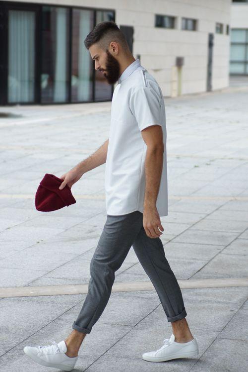 ふくらはぎ・男性・ファッション