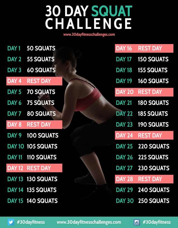 30日スクワットチャレンジ