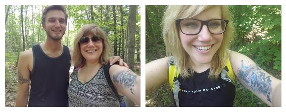 One year of weight loss progress