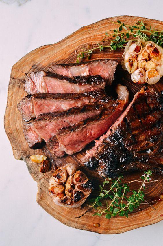 Glazed Steak