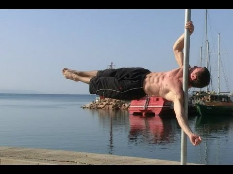 One arm Dragon Flag - street workout tutorial - CIA